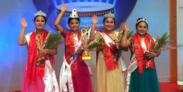 Melina Moktan crowned as Mrs. Mongol Nepal 2017