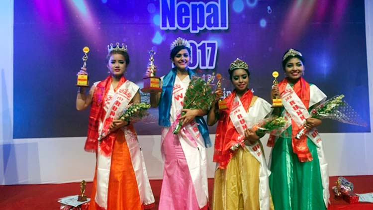Miss Beauty Queen Nepal 2017