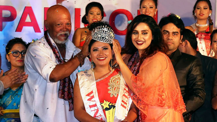 Sunil Thapa, Sanchita Luitel | Mrs Nepal Icon