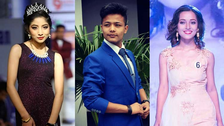 Anjasha Rijal competing at Little Miss Princess International category while Ankit Tiwari and Yozana Ghale would be respectively representing at Mister Teen Prince and Miss Teen Princess International 2017