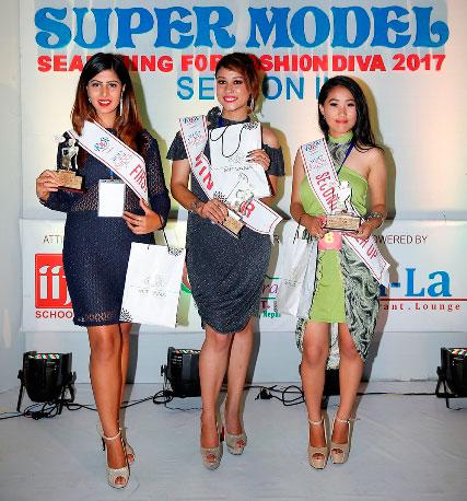 Shristi Tamang won Nepal's Next Super Model 2017