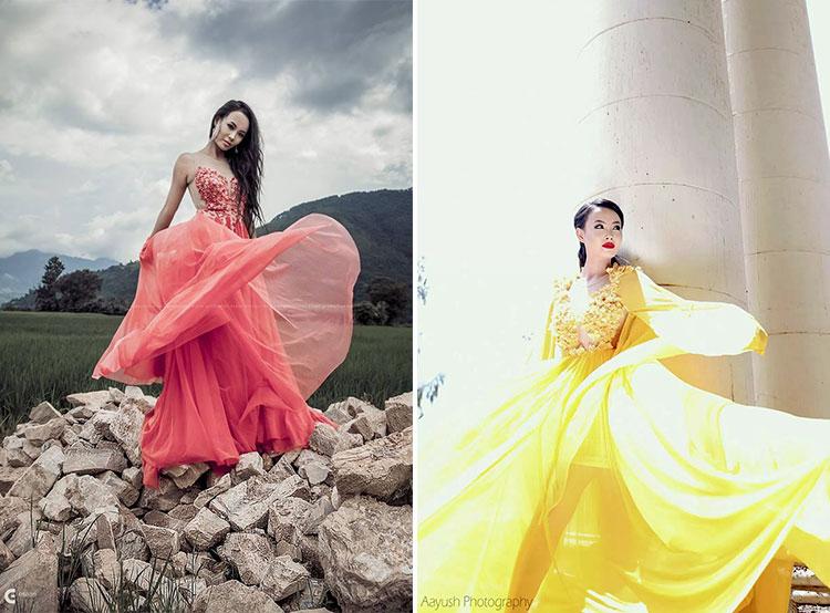 Zeenus Lama Miss Grand International Nepal