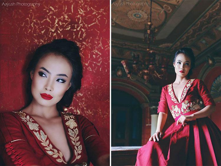 Zeenus Lama Miss Grand International Nepal 2016