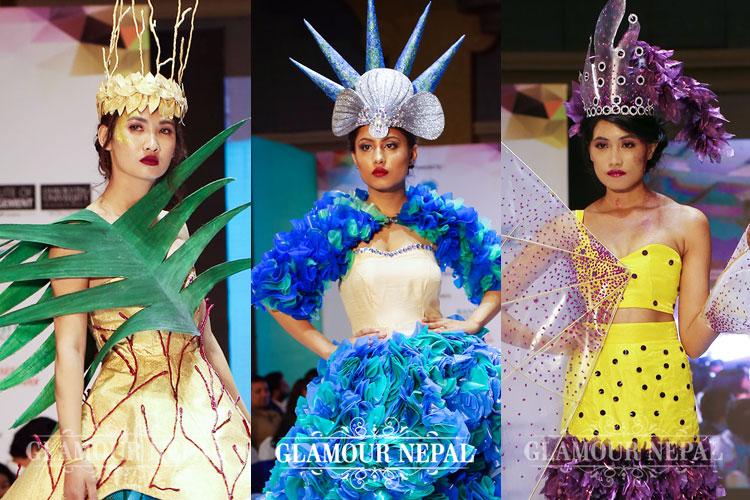 Namuna College Of Fashion Technology 12th Graduation Fashion Show 2017 Glamour Nepal