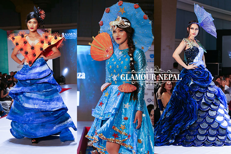 Marine Life Explored During 12th Graduation Show Of Namuna College Glamour Nepal