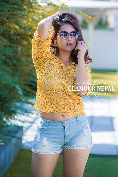 Model / Actress Rebika Gurung