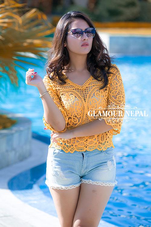 Model / Actress Rebika Gurung