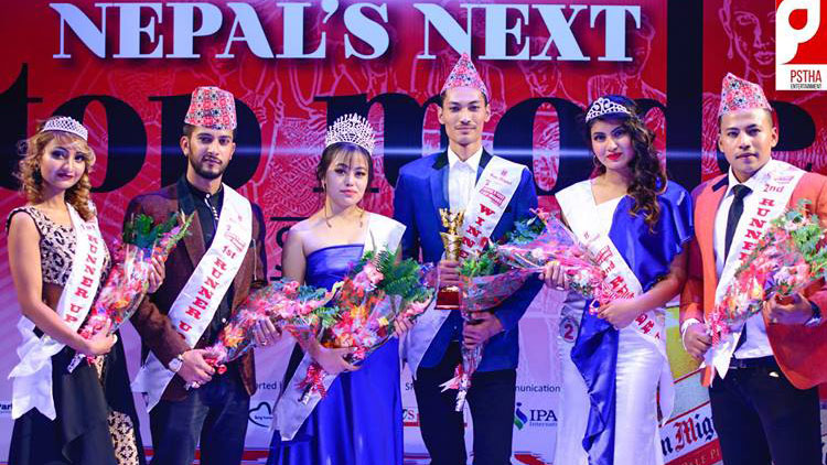 Bisays and Bipana won Nepal's Next Top Model season 3