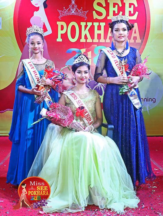 Shreya earned Miss SEE Pokhara 2018 | Glamour Nepal