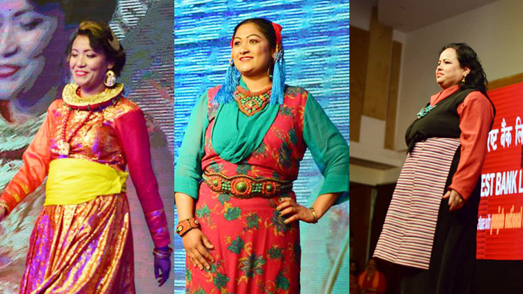 Sudipta Cancer Survivors Ramp Show Pictures