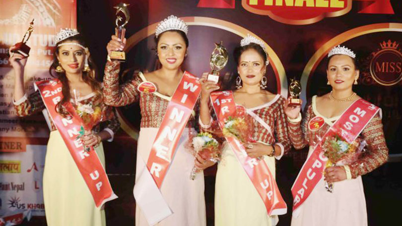 Mrs Beautiful Nepal 2019 winners