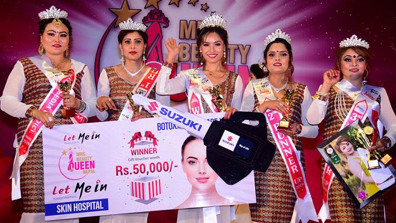 Mrs. Beauty Queen Nepal 2019