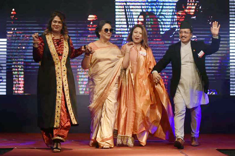 Sudipta Cancer Survivors Ramp Show