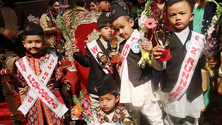Kindergarten Prince and Princess Nepal 2019