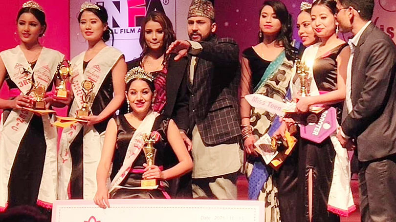 Purnima crowned as Miss Teen Angel 2075