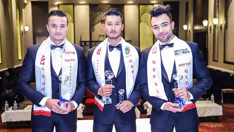 Bibesh Shrestha Awarded as PROstyle Manhunt International Nepal 2019