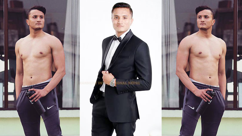 Prashant Jung Shah Competing at Mister International 2019
