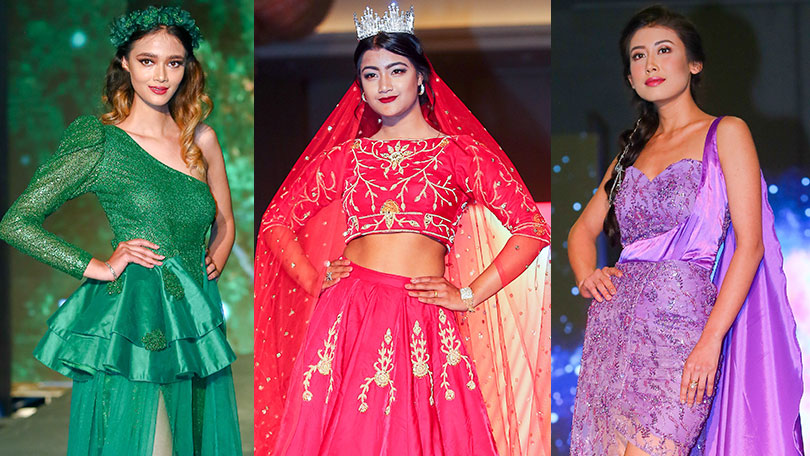 Iec Designer S Runway 8 Grand Showcase Of Fashion Style Glamour Nepal