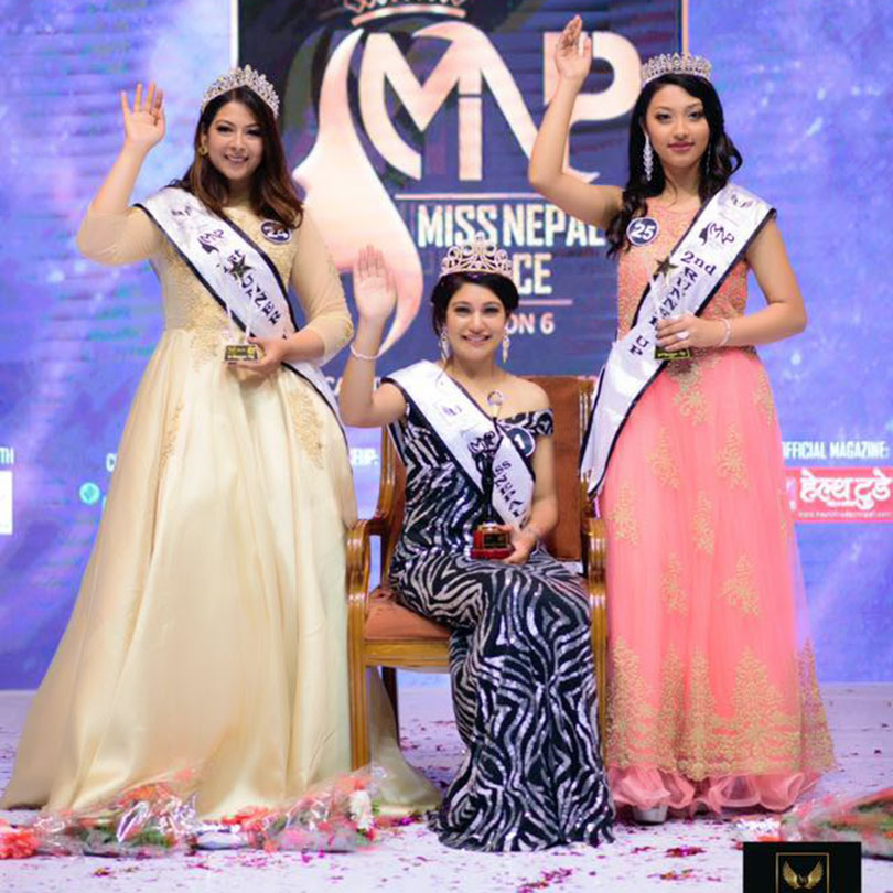 Miss Nepal Peace 2019 winners