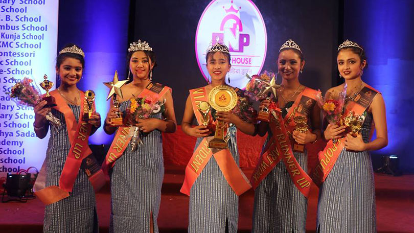 little miss and master nepal icon 2019 winners teens