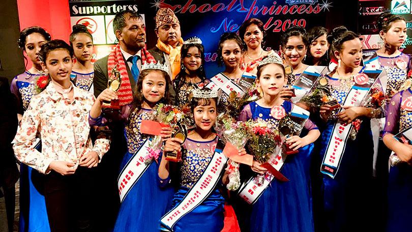 Sarina and Garima chosen as School Princess Nepal