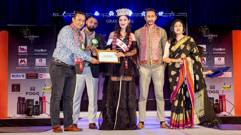 Apaysha crowned as Jewel of the World Nepal 2019 by Event Better Galaxy
