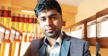 Nabin Luitel's Photo, the founder director of Central Fashion Hub